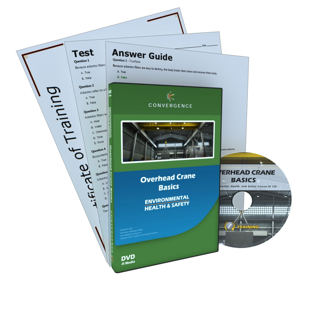 Overhead Crane Training Requirements Alberta : Overhead crane basics dvd