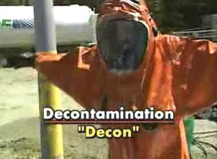 decontamination procedures hazwoper video dvd