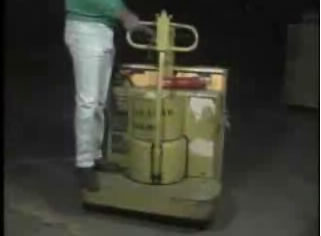 electric pallet jack video