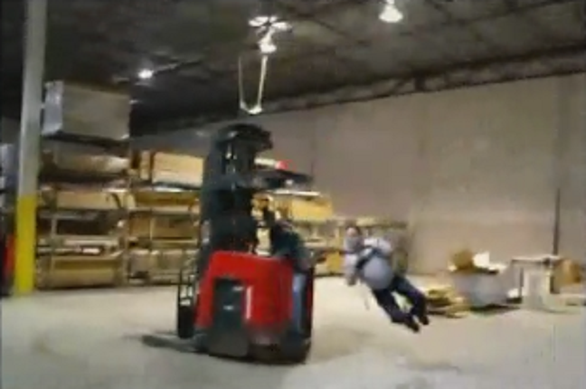 Funny Forklift Videos How Not To Operate A Forklift
