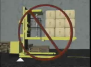 order stacker safety video forklift