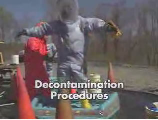 personal protective equipment decontamination procedures hazwoper video dvd