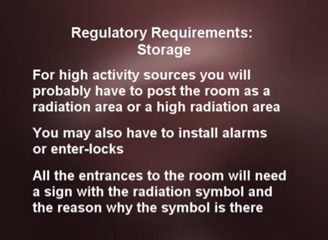 radiation safety sealed sources video dvd