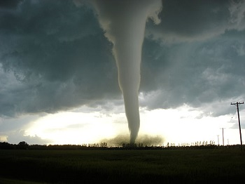 Emergencies may include tornados such as this one