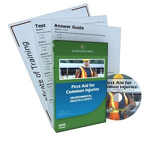 First Aid for Common Injuries DVD