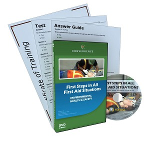 First Steps in All First Aid Situations DVD