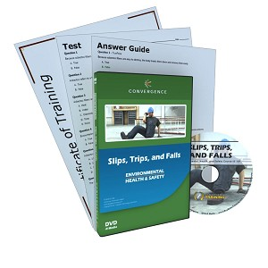 Slips, Trips, and Falls DVD