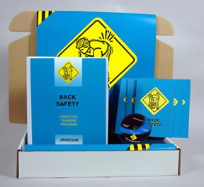 Back Safety DVD - Safety Meeting Kit