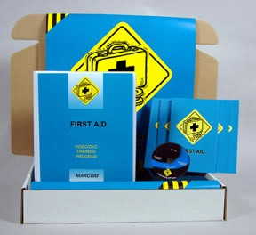First Aid DVD Safety Meeting Kit