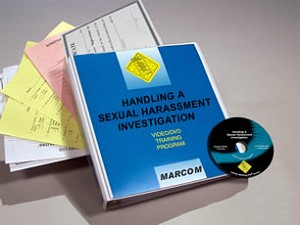 Handling a Sexual Harassment Investigation Video
