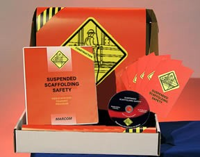Suspended Scaffolding Safety in Construction Environments Construction Safety Kit (DVD)