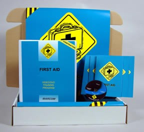 First Aid in Construction Environments Construction Safety Kit (DVD)