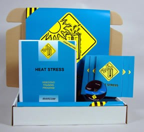 Heat Stress in Construction Environments Construction Safety Kit (DVD)