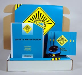 Safety Orientation in Construction Environments Construction Safety Kit (DVD)