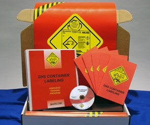 GHS Container Labeling Regulatory Compliance Kit (DVD)