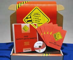 GHS Safety Data Sheets in Construction Environments  Kit (DVD)