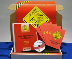 GHS Container Labeling in Construction Environments Construction Safety Kit (DVD)