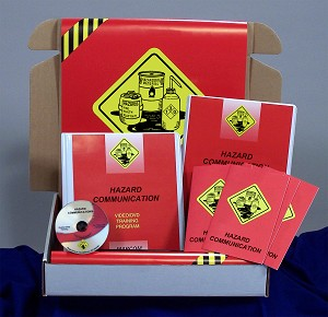 Hazard Communication in Industrial Facilities Regulatory Compliance Kit (DVD)
