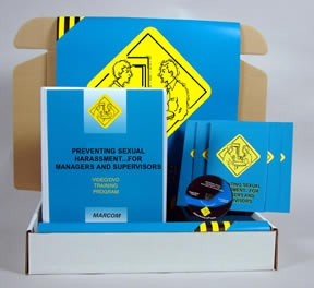 Preventing Sexual Harassment For Managers & Supervisors DVD - Safety Meeting Kit