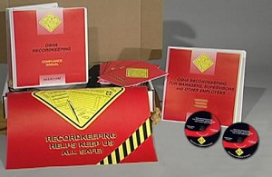 OSHA Recordkeeping for Managers, Supervisors and Other Employees DVD Regulatory Compliance Kit