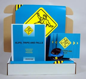 Slips, Trips & Falls DVD Safety Meeting Kit