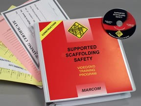 Supported Scaffolding Safety in Construction Environments DVD Program