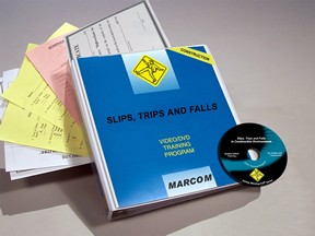 Slips, Trips and Falls in Construction Environments DVD Program