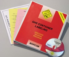 GHS Container Labeling in Construction Environments DVD Program