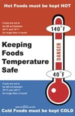 Keeping Foods Temperature Safe Poster