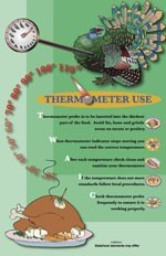 Thermometer Use Poster
