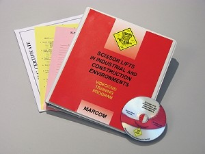 Scissor Lifts in Industrial and Construction Environments Regulatory Compliance DVD Program