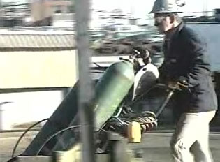 compressed gas safety video cylinders dvd