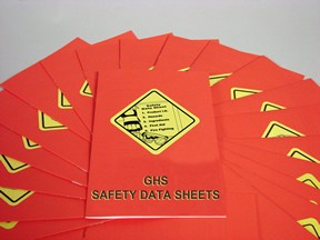 GHS Safety Data Sheets Employee Booklet