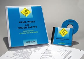 Hand, Wrist & Finger Safety in Construction Environments CD-ROM Course