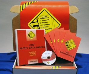 GHS Safety Data Sheets Regulatory Compliance Kit (DVD)