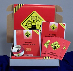 Hazard Communication in Construction Environments Construction Safety Kit (DVD)