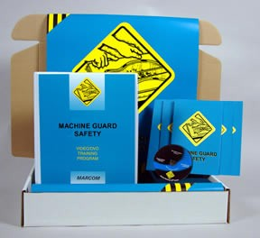Machine Guard Safety DVD - Safety Meeting Kit