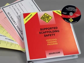 Supported Scaffolding Safety in Construction Environments Refresher Program DVD Program